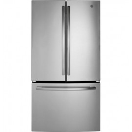 GE 27.0 Cu. Ft. Bottom Freezer- French Door Refrig..