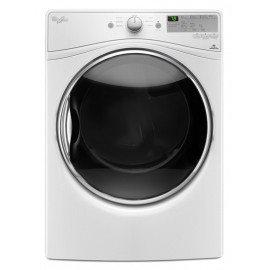 Whirlpool 7.4 cu.ft Front Load Electric Dryer with Advanced Moisture Sensing WED8540FW