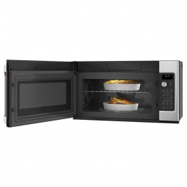GE Cafe Over-The-Range Microwave/Convection 1.7 CVM517P2MS1