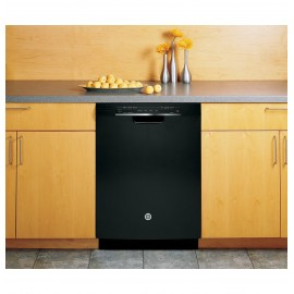 "GE 24"" Full Console D/W, New Advanced Wash Dishwasher GDF520PGJBB"