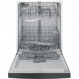 "GE 24"" Full Console D/W, New Advanced Wash Dishwasher GDF610PGJBB"