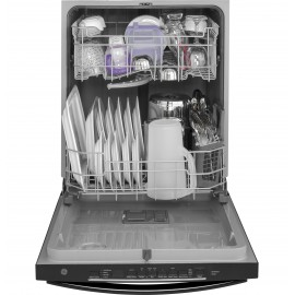 "GE 24"" D/W, Hidden Controls Dishwasher GDT605PGMBB,WW"