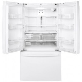 GE 27.0 Cu. Ft. Bottom Freezer- French Door Refrigerator GNE27JGMBB,WW