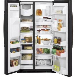 GE 25.3 Cu. Ft. Side-By-Side Refrigerator GSE25HEMDS