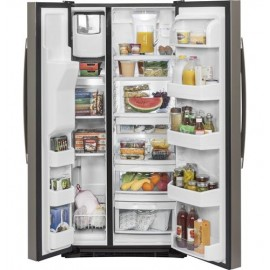GE 23.2 Cu. Ft. Side-By-Side Refrigerator GSS23GMKES
