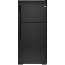 GE 18.2 Cu. Ft. Top-Freezer Refrigerator GTE18ETHBB,WW
