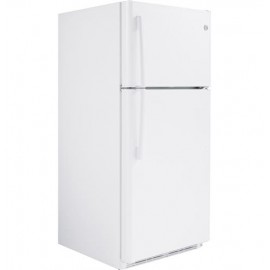 GE 18.2 Cu. Ft. Top-Freezer Refrigerator GTS18FGLBB,WW