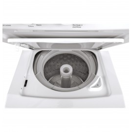 "GE UNITIZED 24"" WASHER/DRYER GUD24GSSMWW"