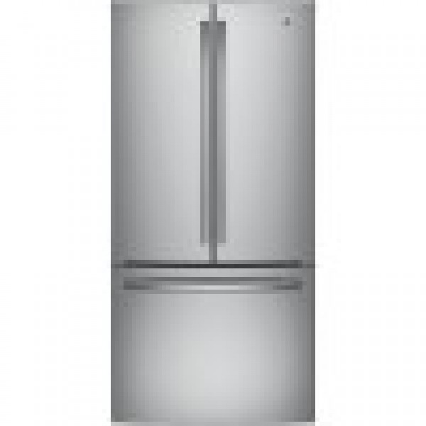 GE 18.6 Cu. Ft. Bottom Freezer-French Door Refrigerator GWE19JSLSS