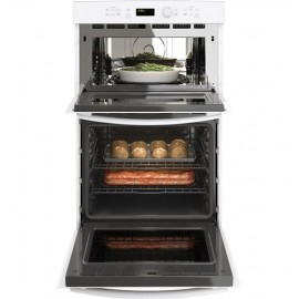 """GE 27"""" Wall Oven/ Microwave Combo JK3800DHWW"""