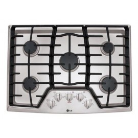 """LG 36"""" Gas Cooktop LCG3611ST"""