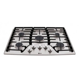 "LG 36"" Gas Cooktop LCG3611ST"