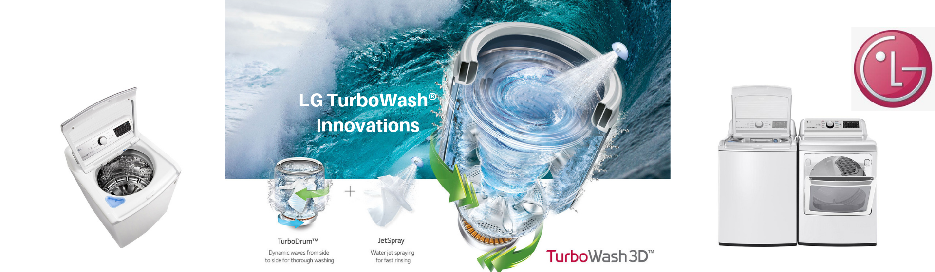LG turbowash innovations