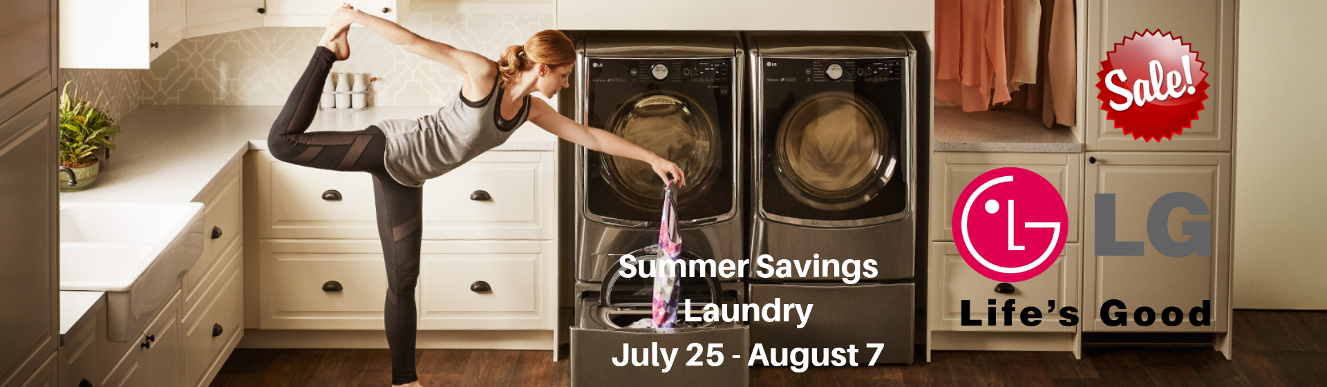 SUMMER SAVINGS LAUNDRY
