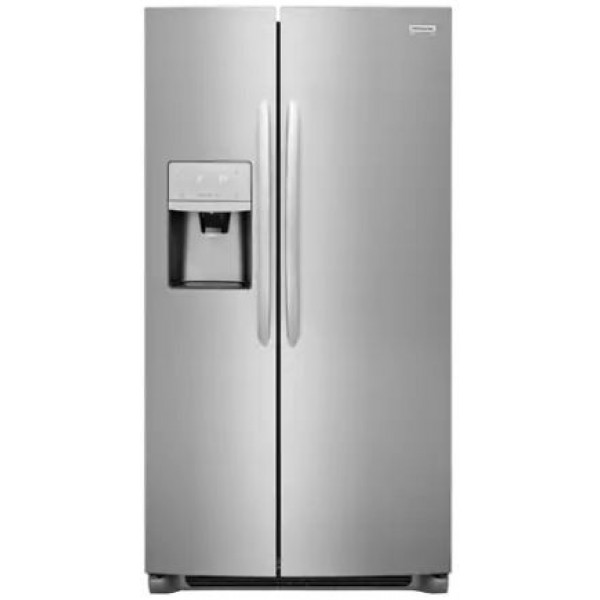 Frigidaire Gallery 22-cu ft Counter-Depth Side-by-Side Refrigerator with Ice Maker LGHK2336TF