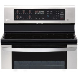 LG 6.3 cu. ft. Electric Single Oven Range LRE3060ST