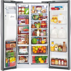 LG 22 cu. ft. Counter-Depth Side-by-Side Refrigerator LSXC22426S