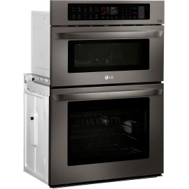 LG 1.7/4.7 cu. ft. Double Wall Oven LWC3063BD