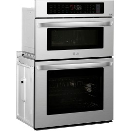 LG 1.7/4.7 cu. ft. Double Wall Oven LWC3063ST