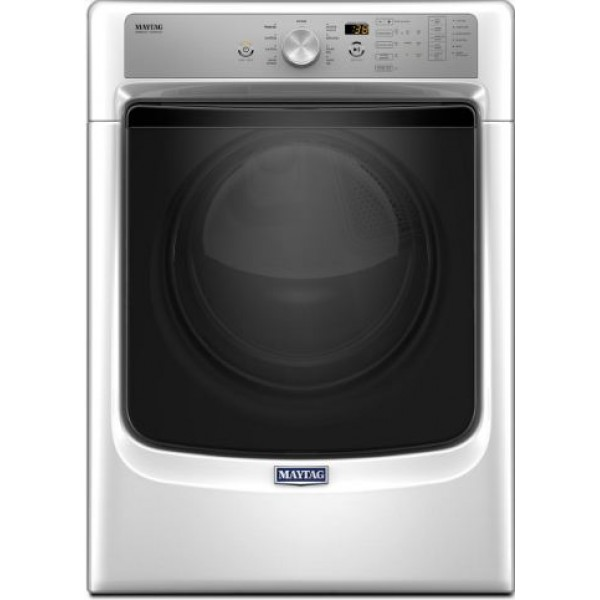 Maytag 7.4-cu ft Stackable Electric Dryer MED5500FW