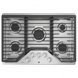 """GE 30"""" PROFILE COOKTOPS - GAS PGP7030SLSS"""