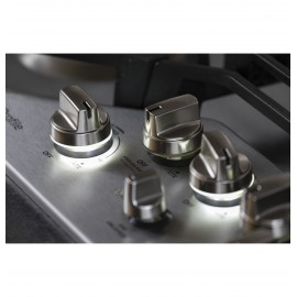 """GE 30"""" PROFILE COOKTOPS - GAS PGP9030SLSS"""