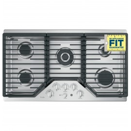 "GE PROFILE 36"" COOKTOPS - GAS PGP9036SLSS"