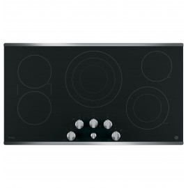 """GE PROFILE 36"""" COOKTOPS - RADIANT PP7036SJSS"""