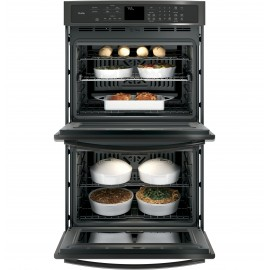 """GE PROFILE 30"""" WALL OVENS PT7550BLTS"""