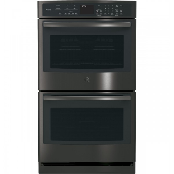 """GE PROFILE 30"""" WALL OVEN PT7550BLTS"""