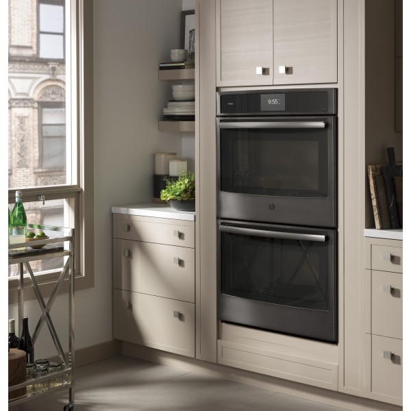 """GE PROFILE 30"""" WALL OVENS PT9551BLTS"""