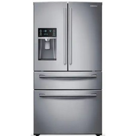 Samsung 4-Door French Door Refrigerator RF28HMEDBS..
