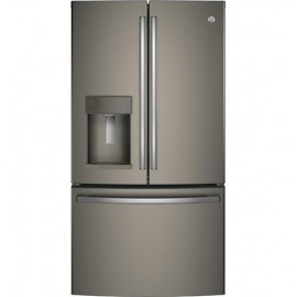 GE 27.8 Cu. Ft. Bottom Freezer-French Door Refrigerator GFD28GMLES
