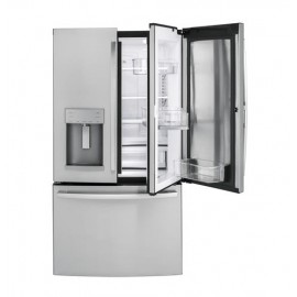 GE 27.8 Cu. Ft. Bottom Freezer-French Door Refrigerator GFD28GSLSS
