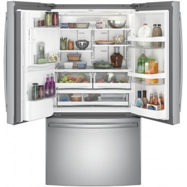 GE 25.7 Cu. Ft. Bottom Freezer-French Door Refrigerator GFE26GSKSS