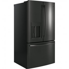 GE 27.8 Cu. Ft. Bottom Freezer-French Door Refrigerator GFE28GBLTS