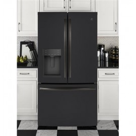 GE 27.8 Cu. Ft. Bottom Freezer-French Door Refrigerator GFE28GELDS
