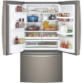 GE 27.8 Cu. Ft. Bottom Freezer-French Door Refrigerator GFE28GMKES