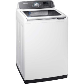 SAMSUNG 5.2 cu.ft. Top Load Washer WA52M7750AW