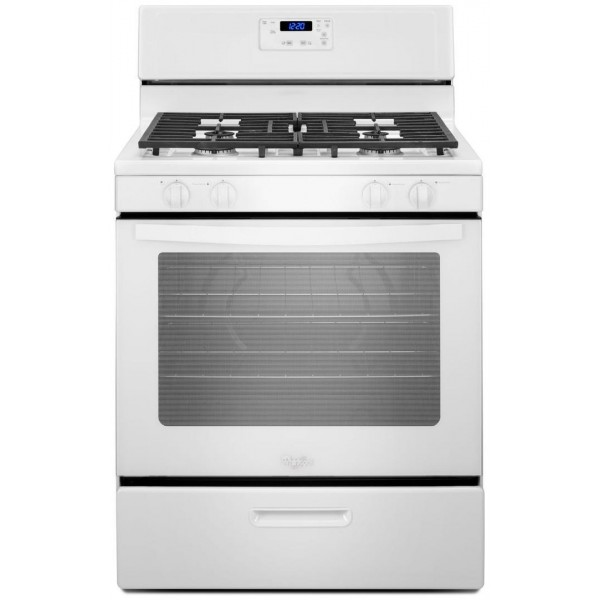 Whirlpool 5.1 cu. ft. Gas Range Clearance WFG320M0BW