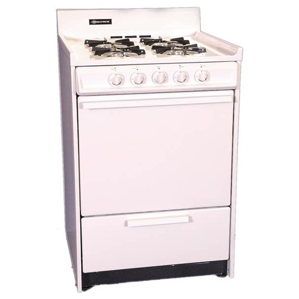 "Brown 24"" Gas Range WNM610-7"