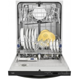 Whirlpool 24-in Fingerprint Dishwasher (Actual: 23.875-in) WDT730PAHZ