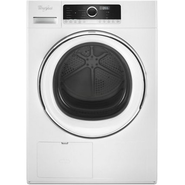 Whirlpool 4.3 cu.ft Compact Ventless Heat Pump Dryer WHD5090GW