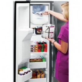 CROSLEY Side-By-Side Refrigerator-Ice and Water thru the door XSS23GSKSS