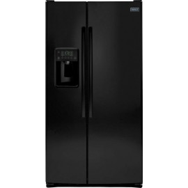 CROSLEY Side-By-Side Refrigerator-Ice and Water thru the door XSS25GGHBB/WW